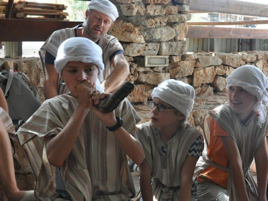 Israël met kinderen